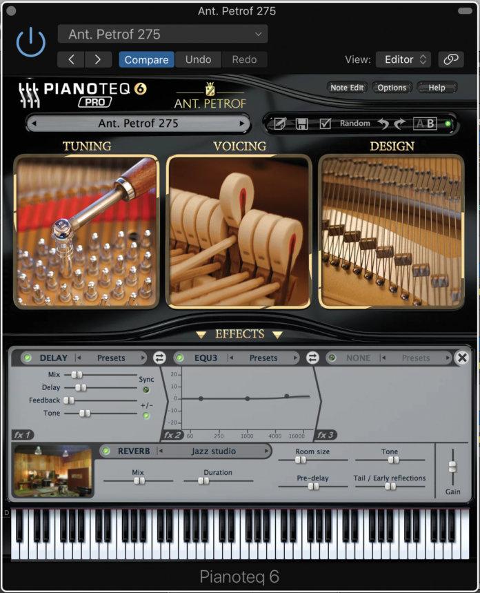 Pianoteq 6 Ant. Petrof 275