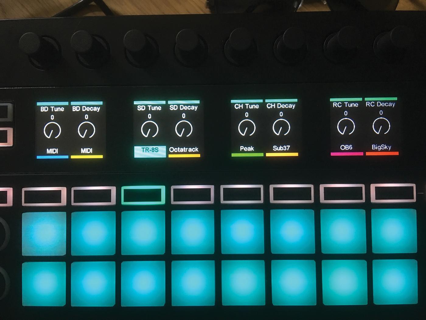 Novation SL MkIII controls