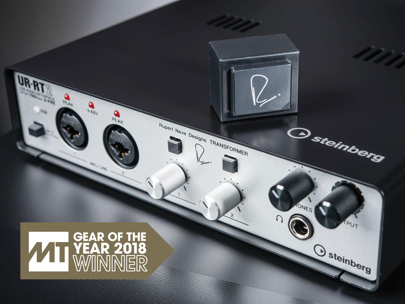 Gear of the Year 2018, Steinberg UR-RT range