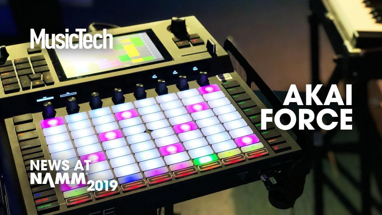 NAMM 2019 Video: Akai launches Force, promising standalone