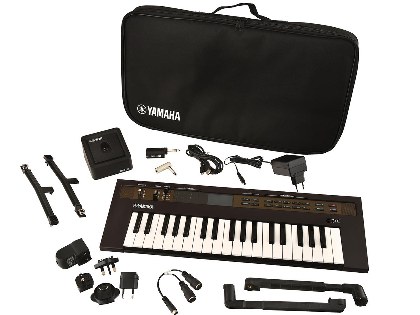 Yamaha Reface DX Keytar bundle
