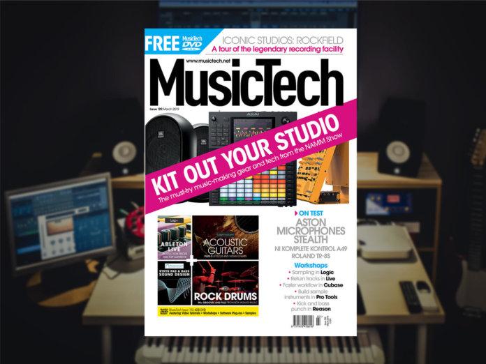 MusicTech 192 magazine