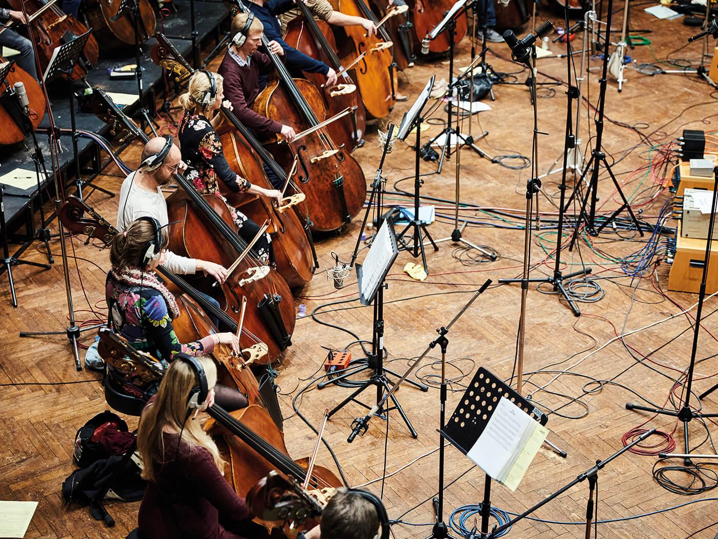 Spitfire Audio Hans Zimmer strings recording