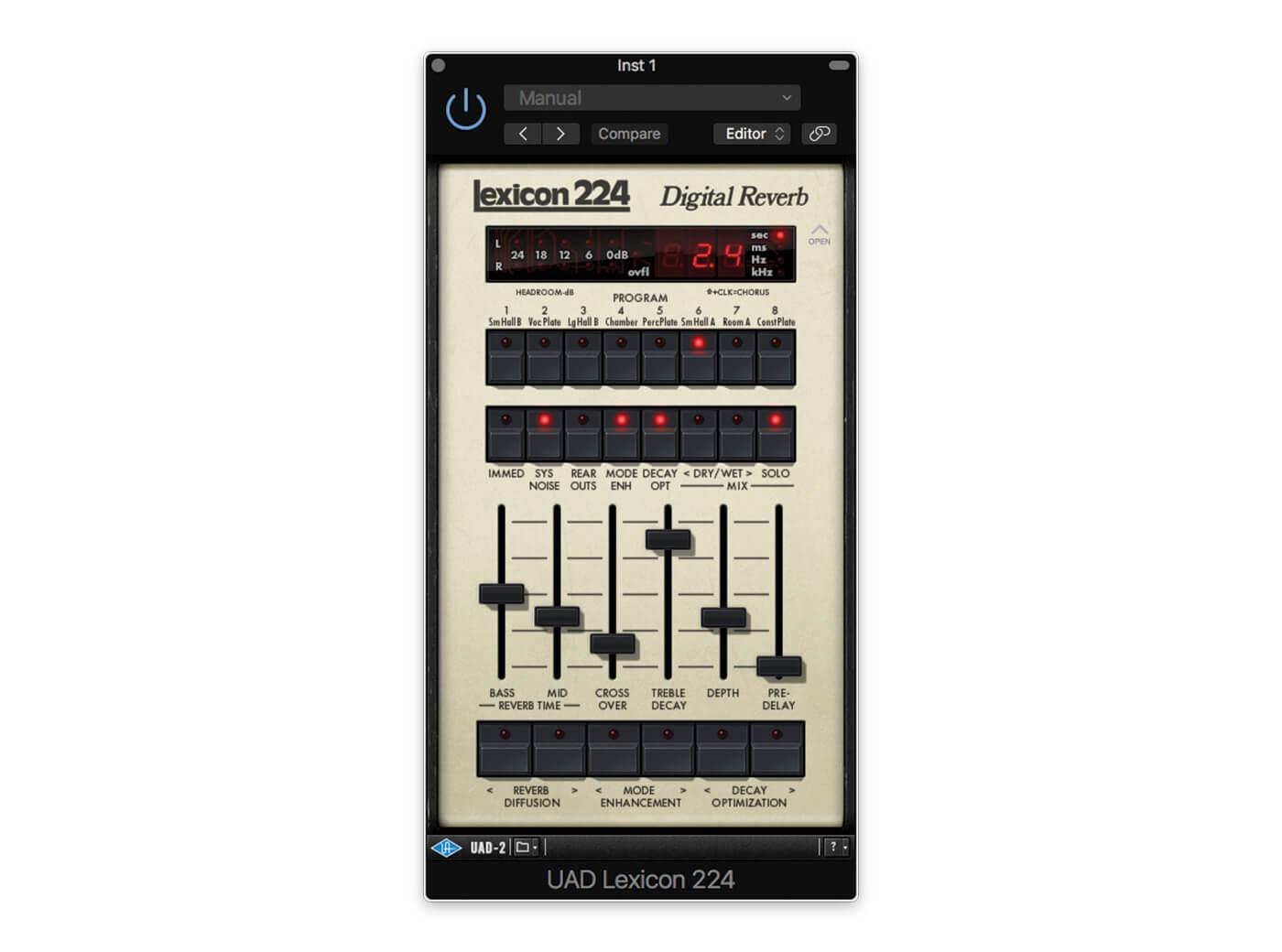 Universal Audio Lexicon 224