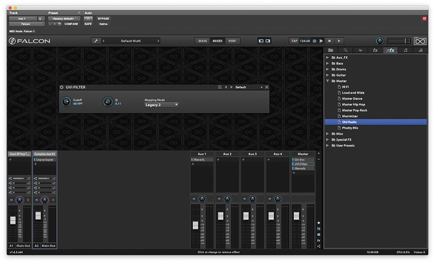 Using UVI Falcon in Pro Tools