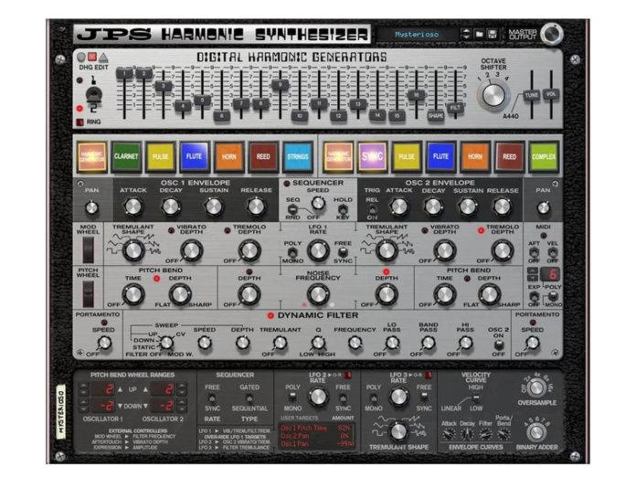 JPS Harmonic Synthesizer 2