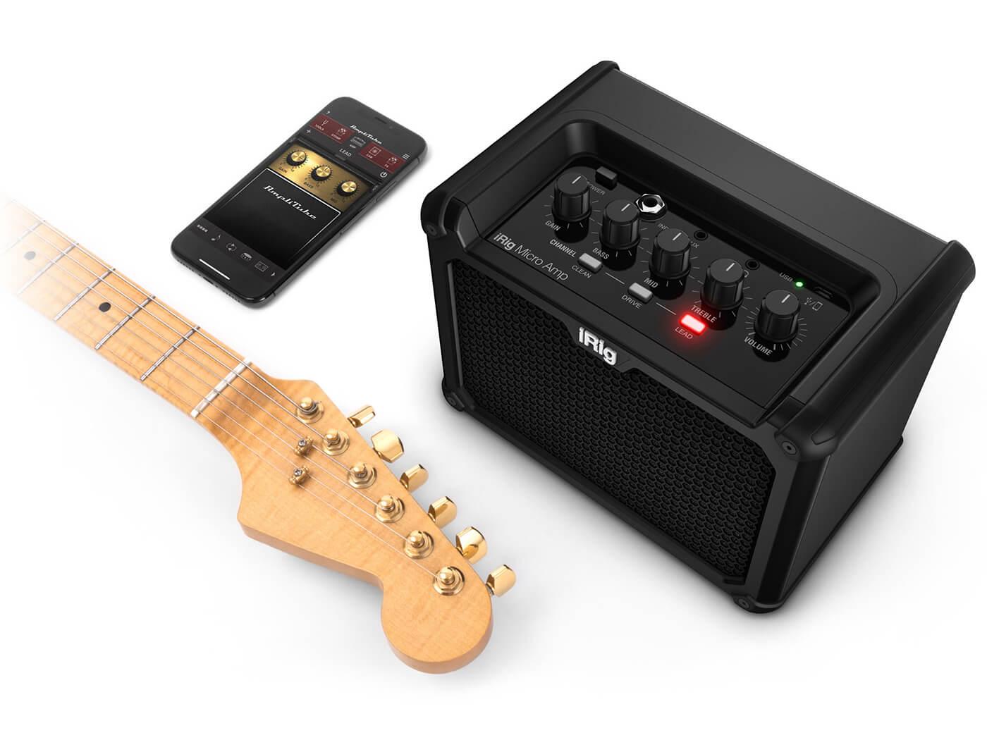 IK Multimedia iRig Micro Amp interface