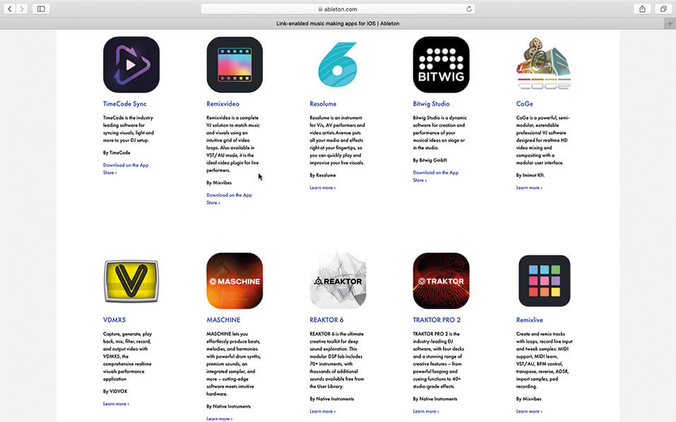 ableton app store