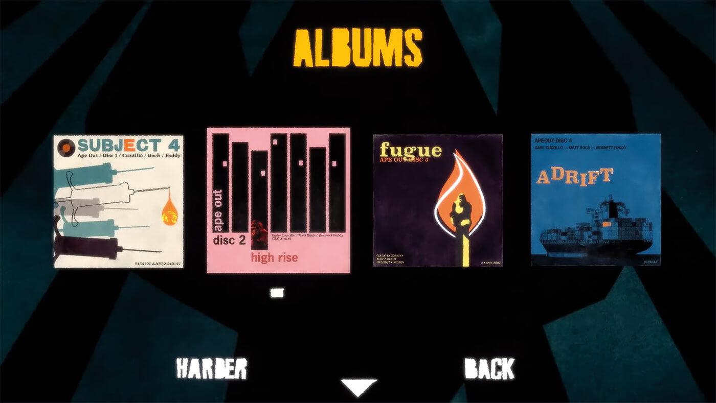 ape out matt boch album covers