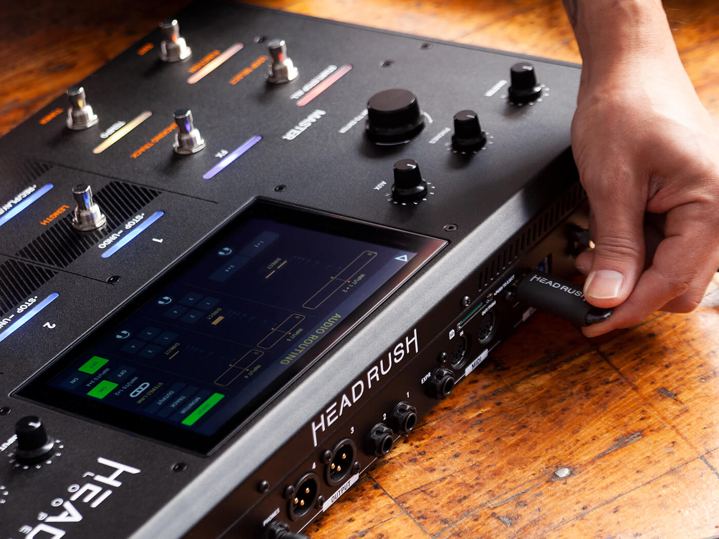 Get eight hours of recording time with Headrush's new