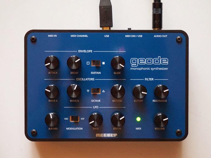 Meeblip Geode Synthesizer