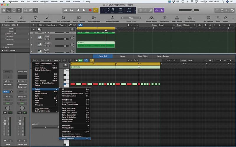 Program your own beats in Logic