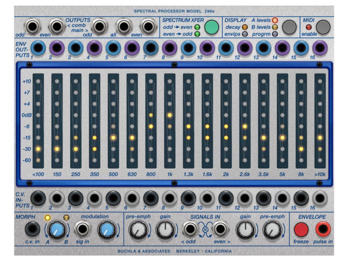 Softube Buchla 296e Spectral Processor Plug-in