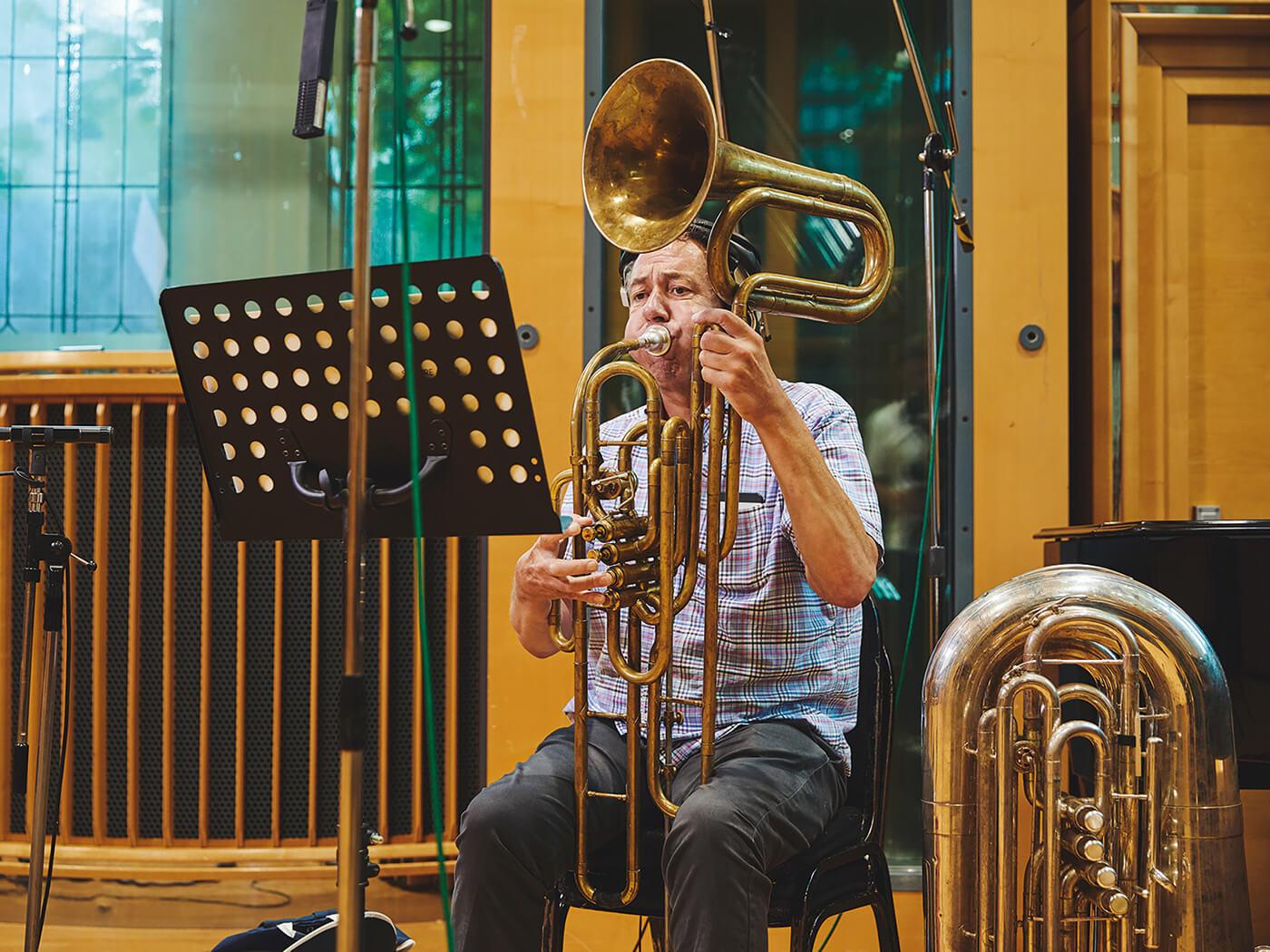 spitfire studio brass professional live musician