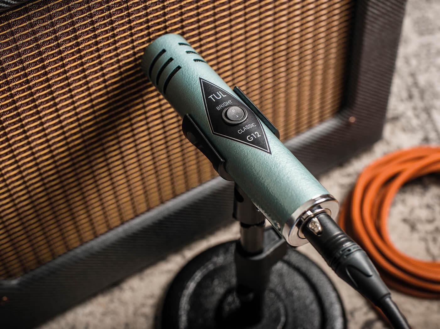 tul microphones g12 retro guitar