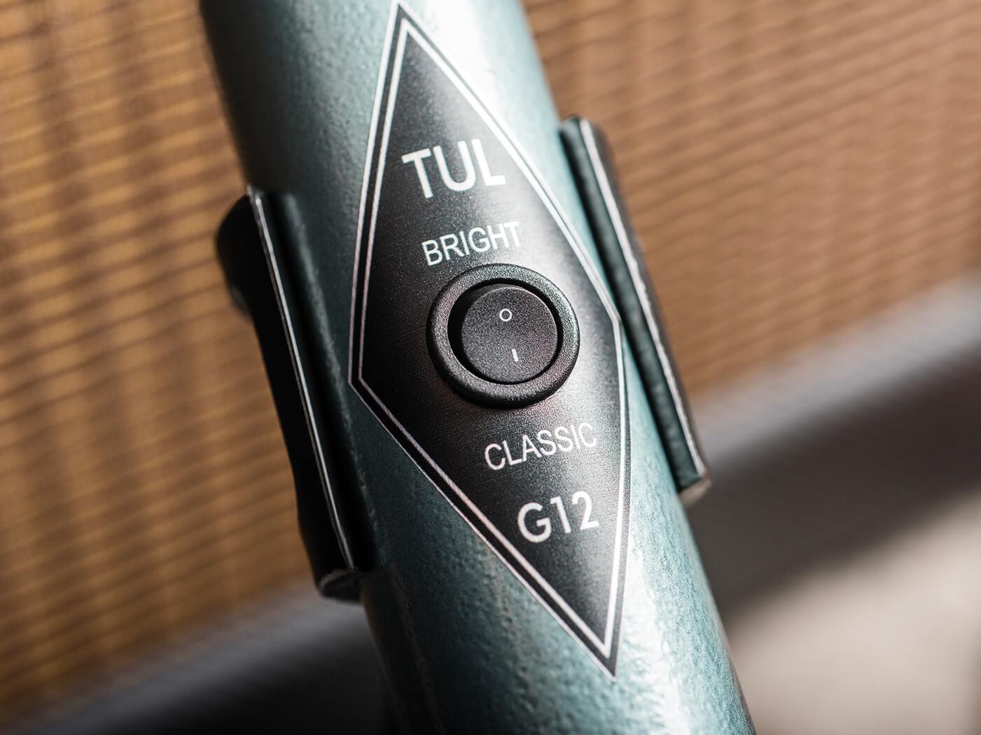 tul microphones g12 retro guitar mic