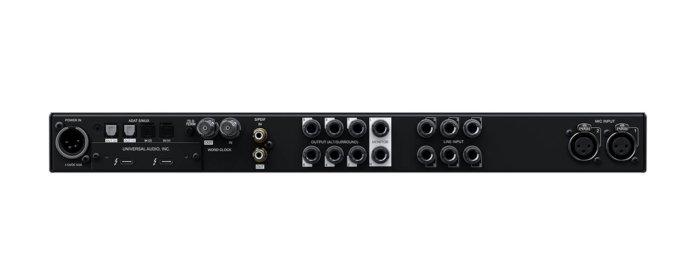 universal audio apollo x6 back panel