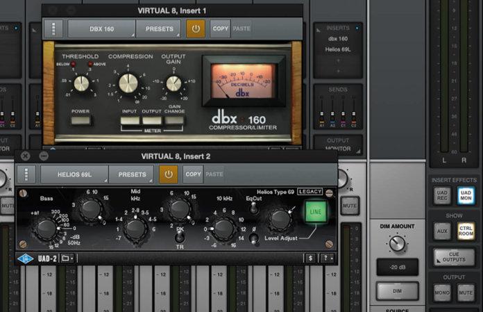 universal audio dbx plug-in