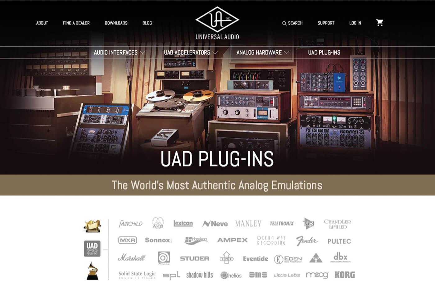 universal audio uad-2 plug-ins