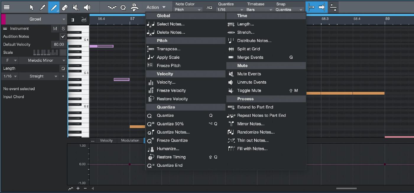PreSonus Studio One 4.5 Midi