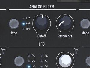 arturia microfreak analog filter