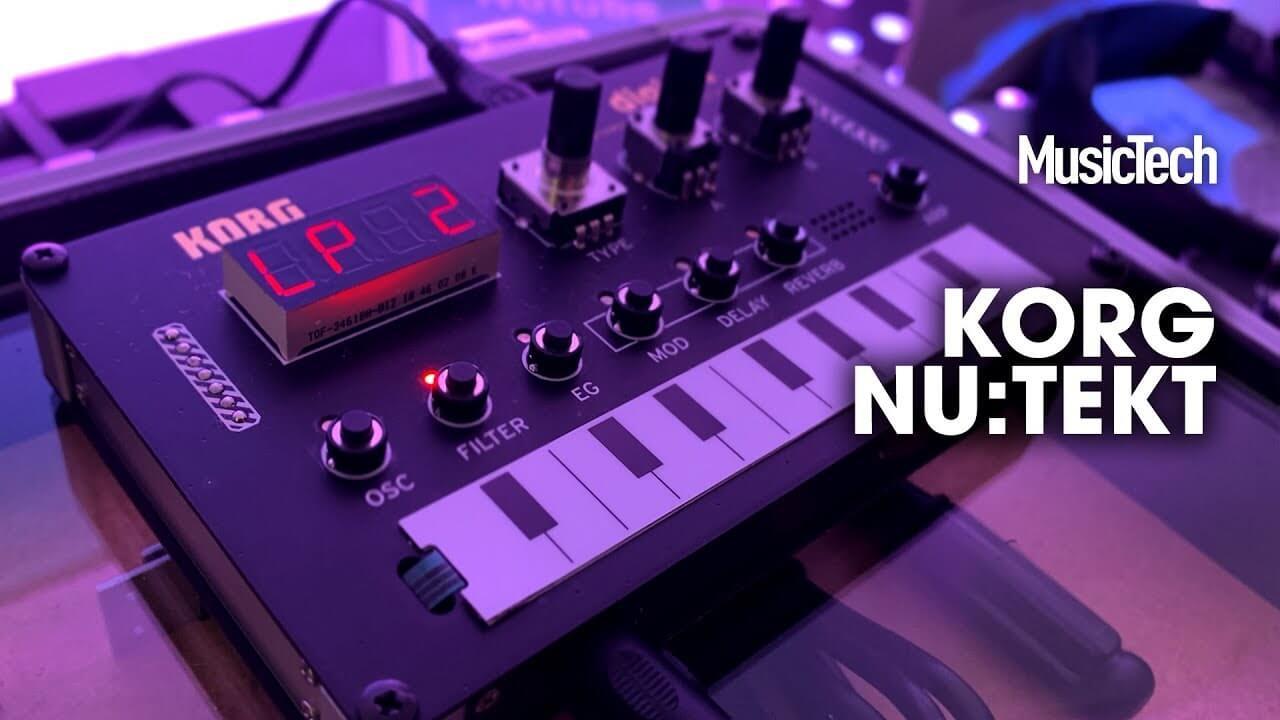 Superbooth 2019: Korg's Nu:Tekt is a pocket-sized, DIY digital synthesizer
