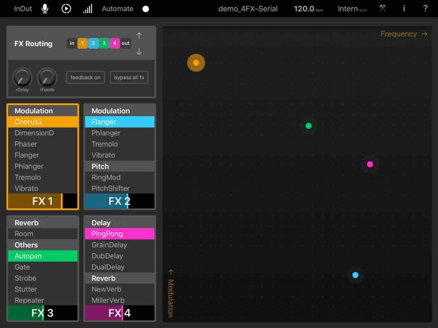 MoMinsturments Elastic FX app