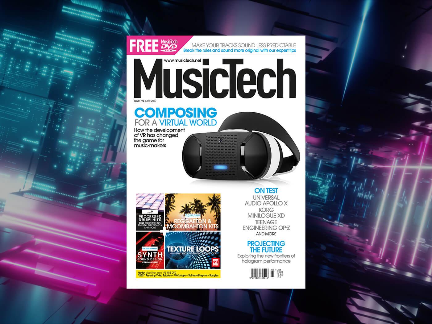 MusicTech 195: Composing for a virtual world - MusicTech