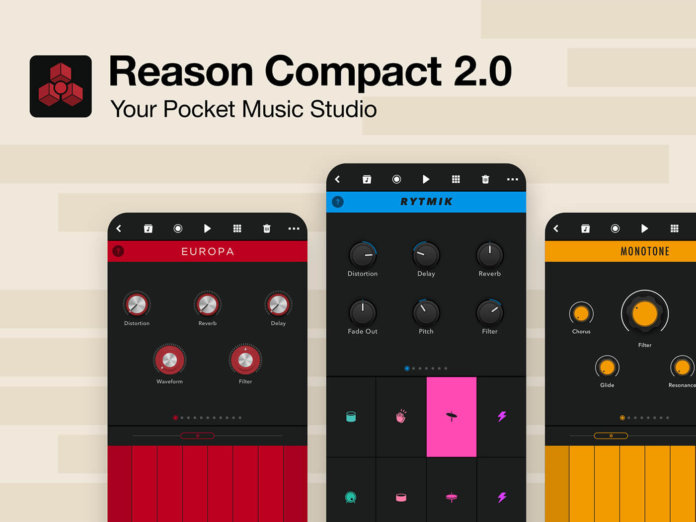 Propellerhead reason compact 2