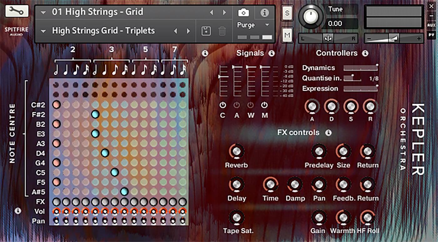Spitfire Audio Kepler Orchestra Grid