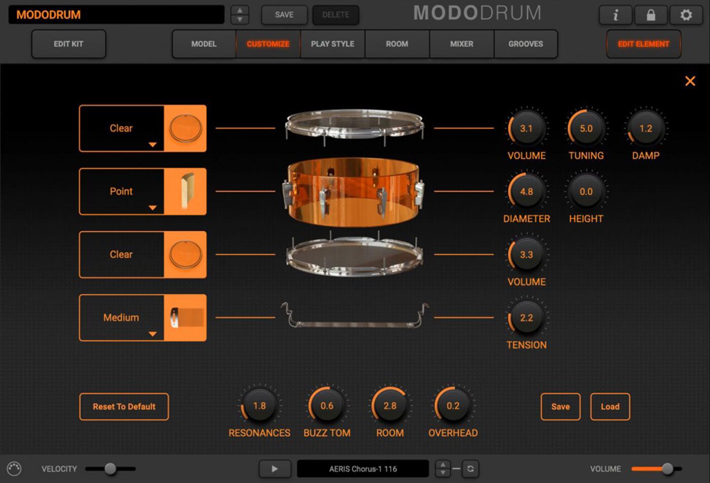 IK Multimedia Modo Drum deconstructed