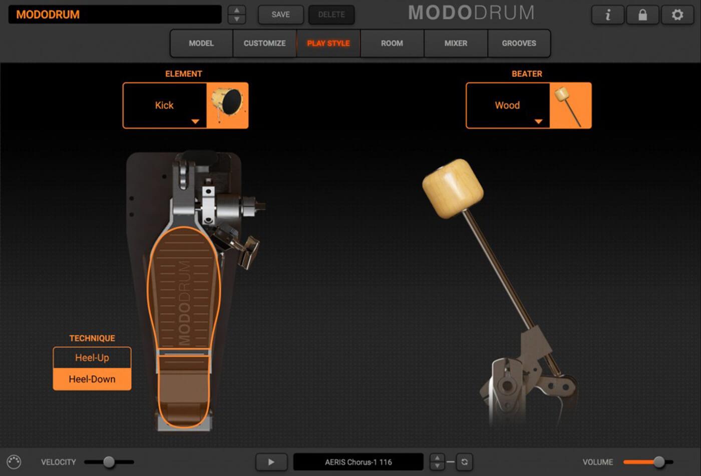 IK Multimedia Modo Drum kick drum technique