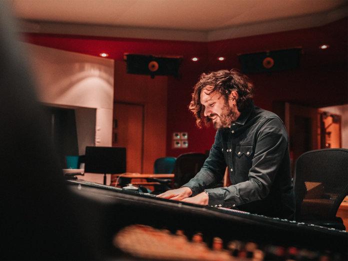 Abbey Road Senior Recordist John Barrett at work
