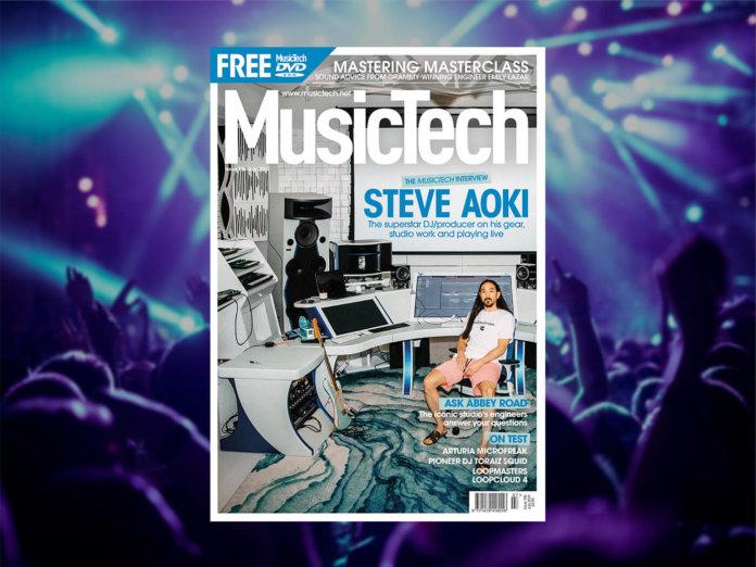 musictech 196 steve aoki magazine