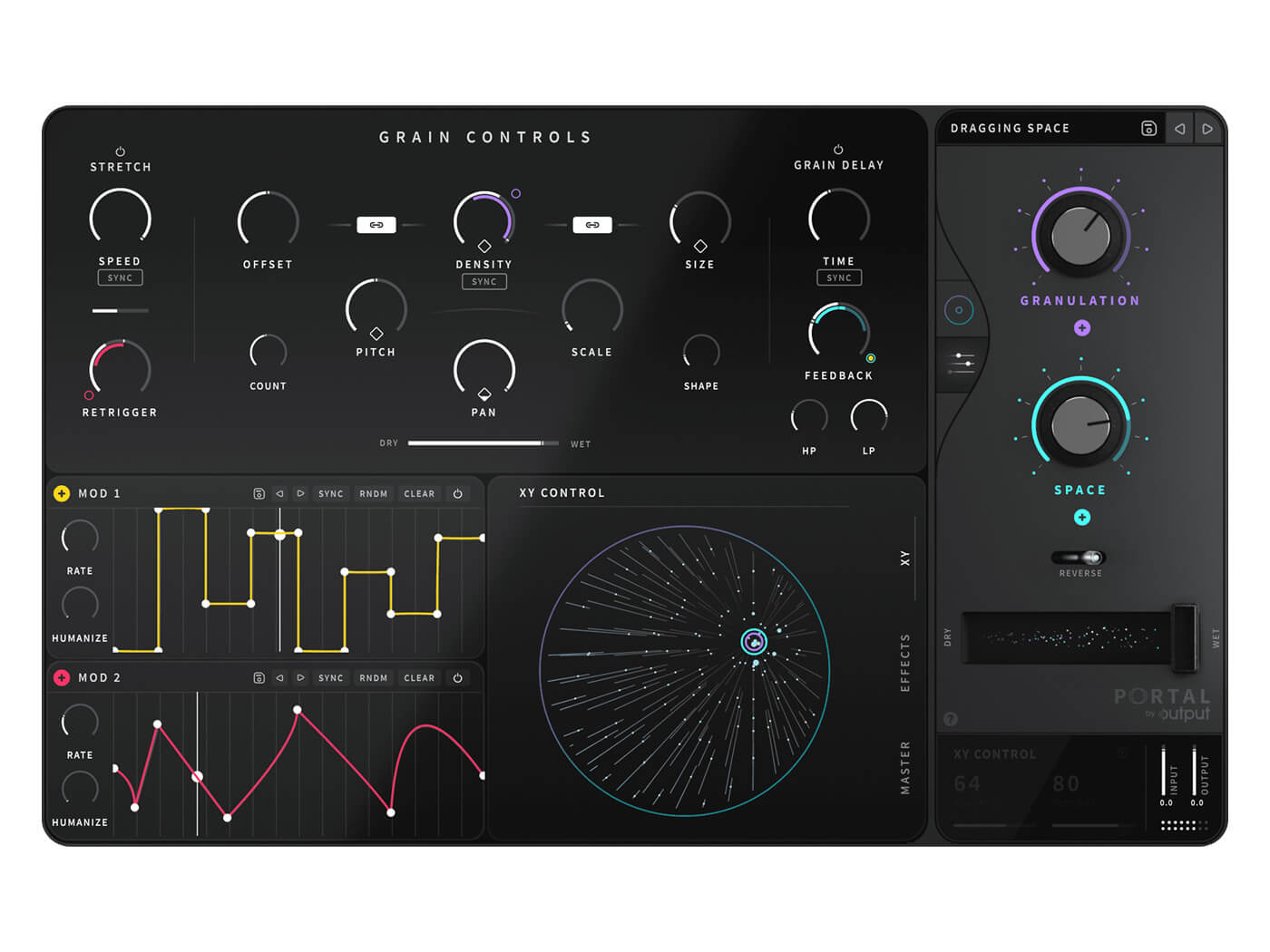Output claims to have reinvented granular synthesis with Portal