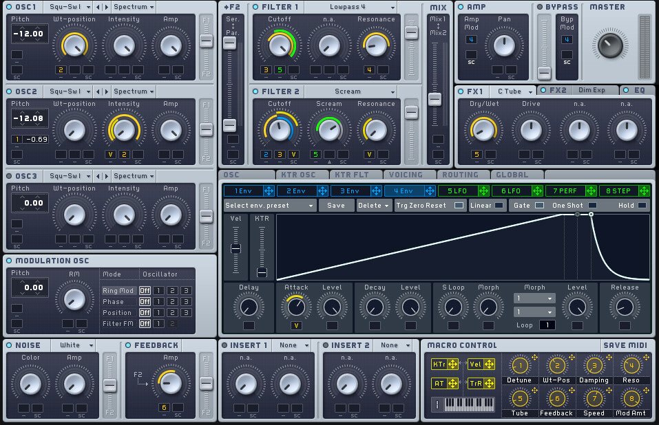 Subtractive synths tips, Reverse bass