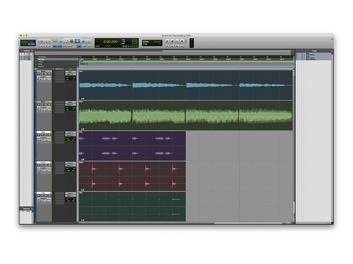 Exploring the new features of Pro Tools 2019.5