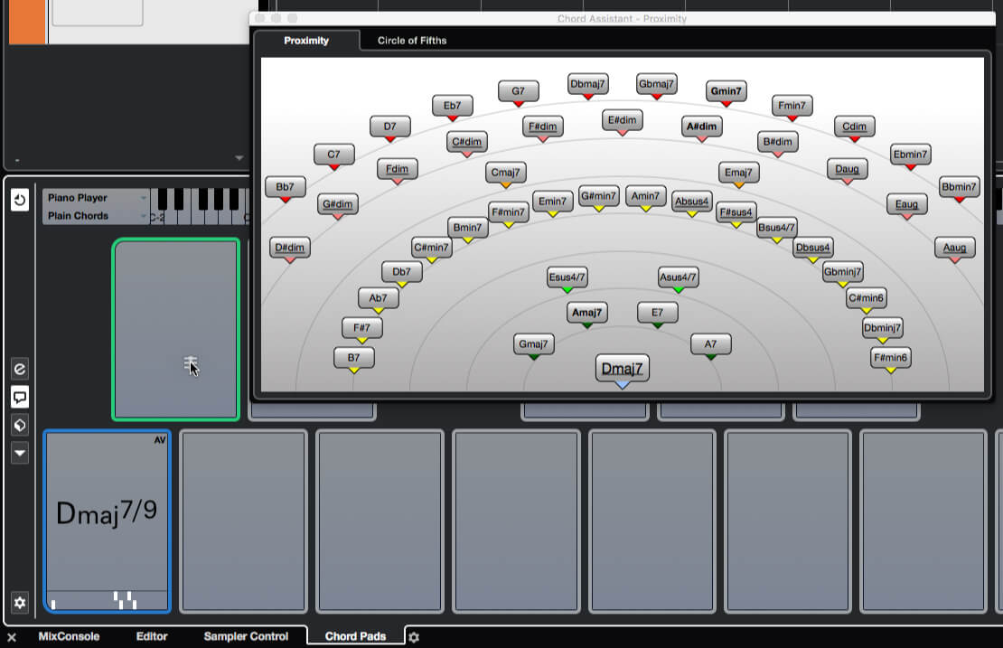 How to work with Chord Pads in Cubase