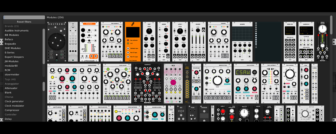Free, open-source virtual modular synth VCV Rack updated to v1 0