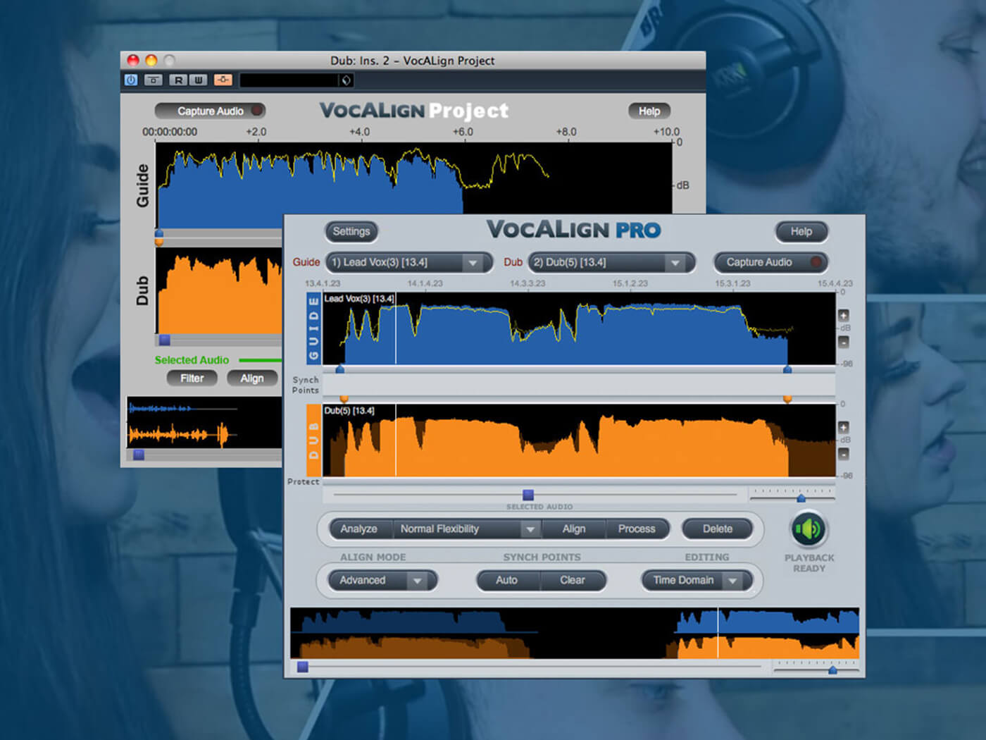 Synchro Arts adds ARA 2 support for VocALign plug-ins