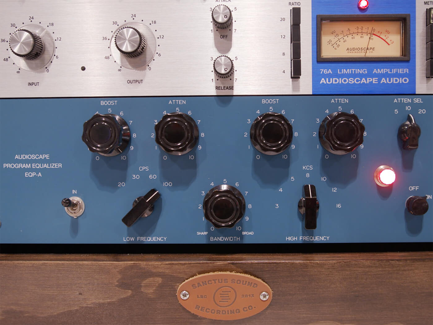 Summer NAMM 2019 Video: Audioscape Engineering's EQP-A Pultec recreation is made in the USA