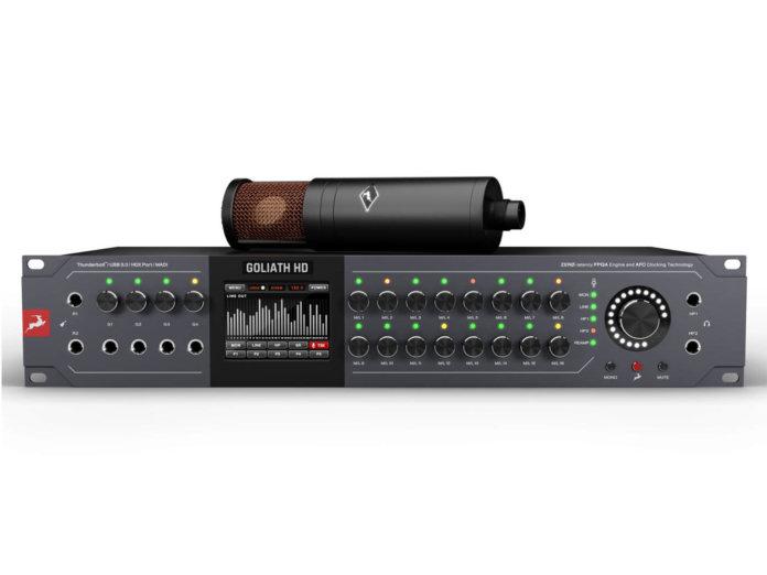 Antelope Audio Goliath HD Gen 3 front
