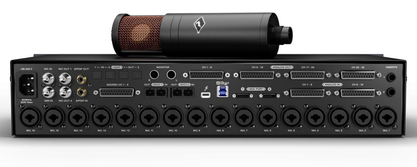 Antelope Audio Goliath HD Gen 3 rear