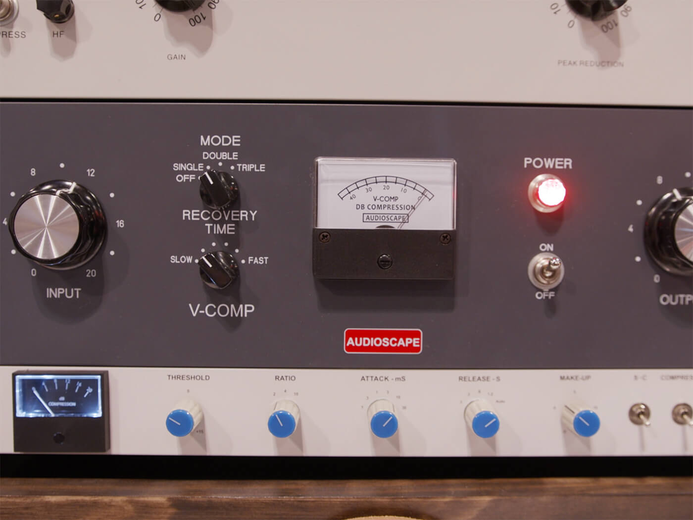 Summer NAMM 2019 Video: Audioscape Engineering makes affordable Gates-style vocal compressor, the V-Comp