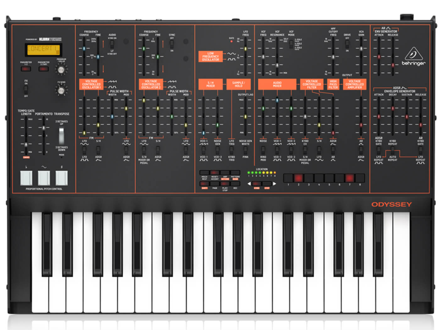 Behringer's Arp Odyssey synth clone available to pre-order