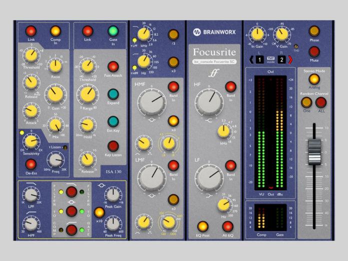Brainworx Focusrite SC plug-in