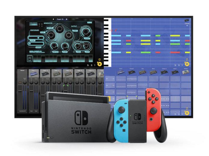 Korg Gadget on Nintendo Switch