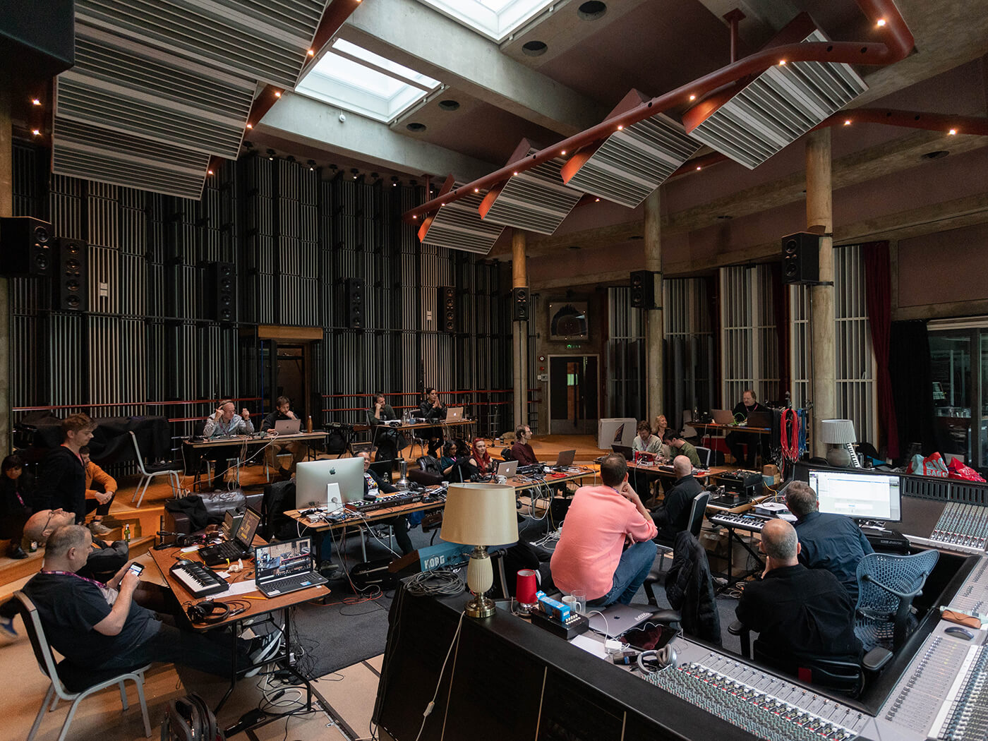 The Big Room at Real World Studios