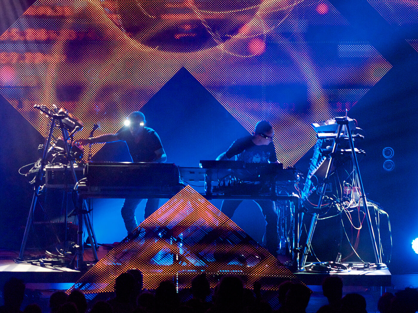 Orbital incorporate a wide variety of synths into their live rig, with the Bass Station (and its successor) providing one of their go-to sounds