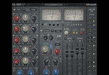 TBProAudio CS-5501 Channel Strip plug-in UI